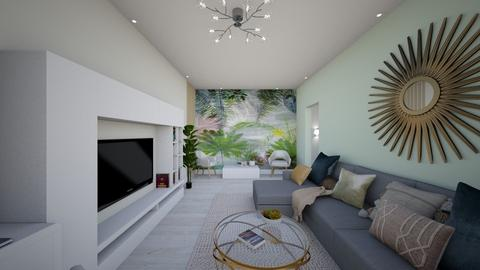 Maria Mustata - Living room - by Flori Santa