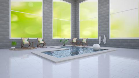 Luxurious indoor pool - Glamour - by Wensday