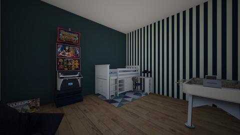 Teen Boy Den - Kids room  - by theIrishdog