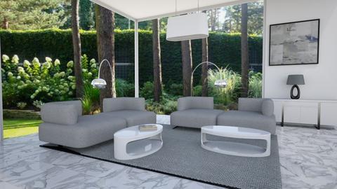 Big Windows Interior - Modern - Living room  - by MyDesignIdeas