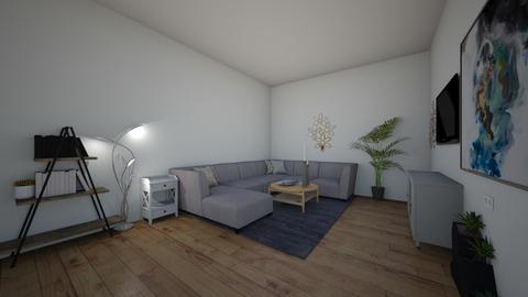 light colored livingroom - Modern - Living room  - by Lil Uni