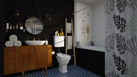 MidCentury - Modern - Bathroom  - by katarina_petakovi