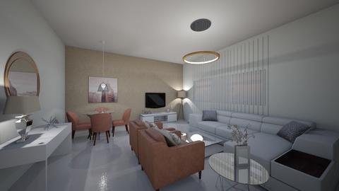 Classic Living Room - Living room - by reem11