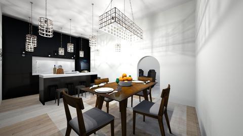 Eatin Kitchen - Classic - Kitchen - by EllaBob123
