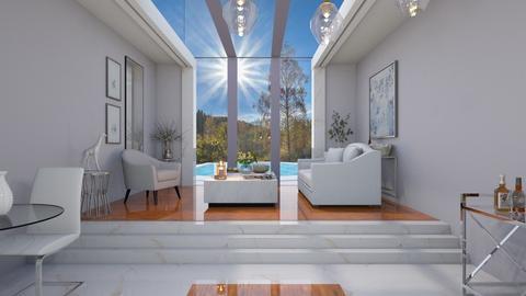 Violet Surprise - Living room  - by yonvie