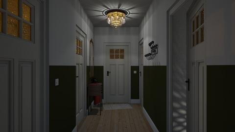 Hallway - Classic - Living room - by HenkRetro1960