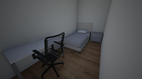 2meters room - Classic - Bedroom  - by johnjenrick