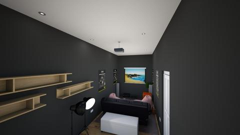 HOME THEATRE_STUDIO - Office  - by nivillonakutty