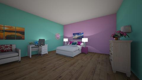 Solana Shelffo Bedroom  - Modern - Bedroom  - by ilovesolana