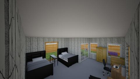 boys_5_8 - Modern - Bedroom  - by Keith Urban