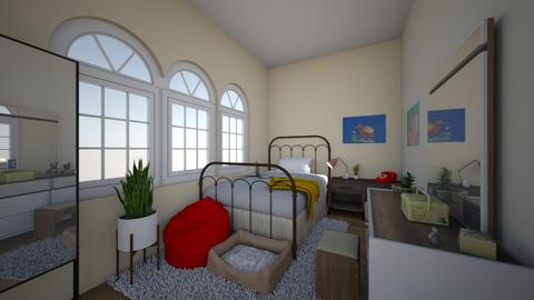 Modern Bedroom - by vctoriia