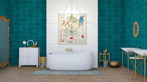 tm bathroom - Modern - Bathroom - by molly_designs