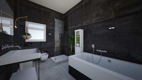salon - Modern - Bathroom  - by monek299