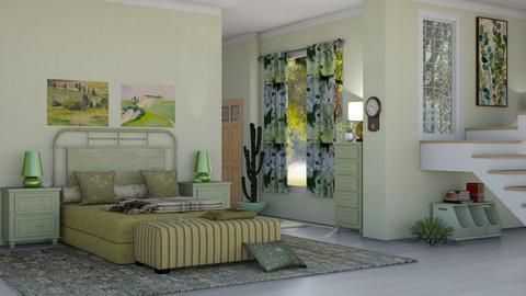 SGB - Bedroom  - by nat mi