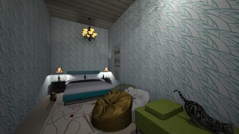 IF_THIS_WAS_MY_BEDROOM  - Bedroom  - by kLAIR3