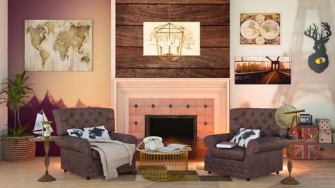 Ready to travel - Living room  - by Oyisha