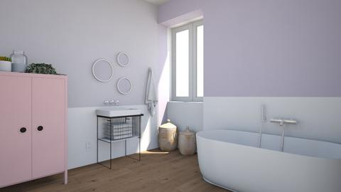 Lavanda - Bathroom  - by Maria Esteves de Oliveira