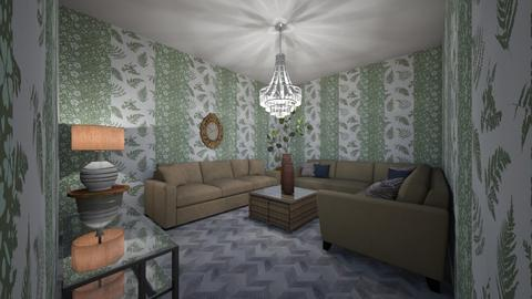 Yousef - Living room  - by sara2245