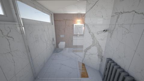 zajac kupelna - Bathroom - by pmochtakova