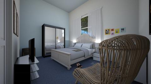 Parents room - Modern - Bedroom  - by ChZu