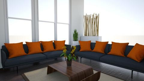 Anderson Living Area - Modern - Living room  - by PricelessImaginationsDecorServices