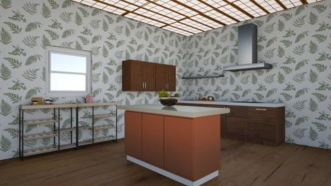 glass leaf - Country - Kitchen  - by aschaper