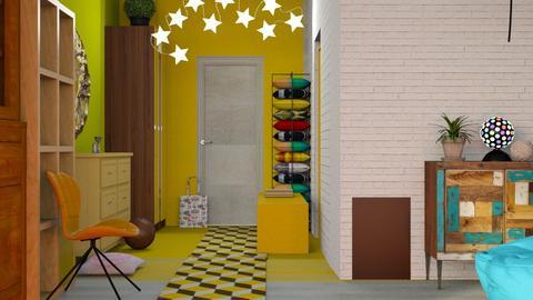 Hallway_2 - by Jasmine_Jasmine