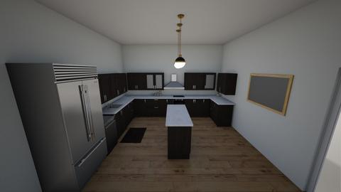 The thompkins kitchen - Kitchen  - by Marielr0318