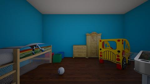 soccer - Kids room  - by Crelle