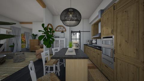 Nature_daily zone - Kitchen  - by lovasemoke