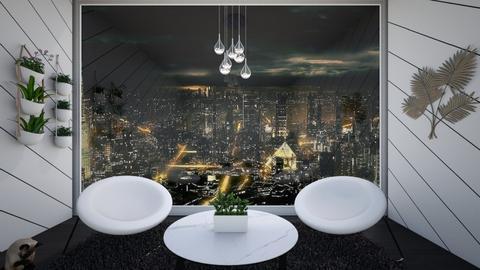 Apartment Sitting Room - Modern - by CatsFurLife
