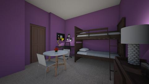 farah room - Kids room  - by fades