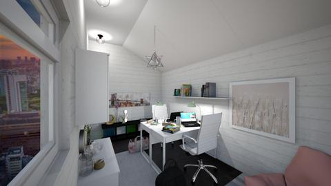 Home Office  - Classic - Office  - by Kawaii Cat