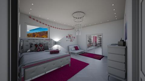 A Girls Dream - Bedroom  - by Khayla Simpson