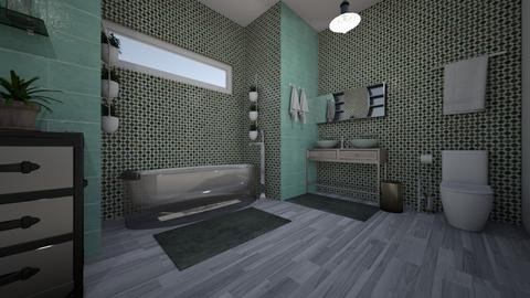 soothing Bath 1 - Modern - Bathroom - by decordiva1