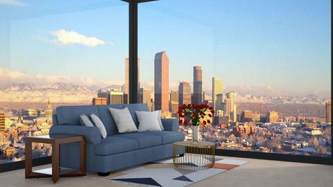 view - Living room  - by cowplant_4life