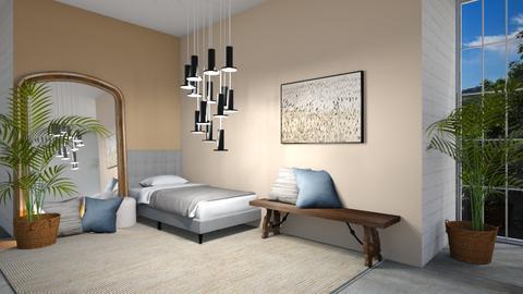 Chandelier - Bedroom  - by Meghan White