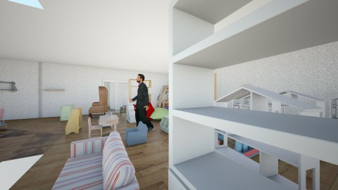 Lumina library 1st gd - Eclectic - Office  - by lumina