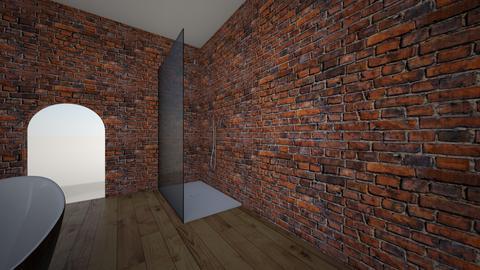 Warehouse Bathroom - Rustic - Bathroom  - by thomashill