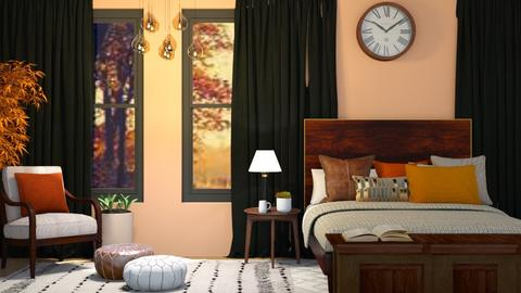 Autumn Bedroom  - Bedroom  - by Yate
