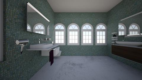 interior design project  - Bathroom  - by egolo