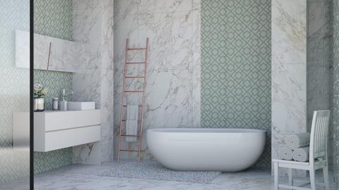 Free standing bath - Bathroom  - by matildabeast