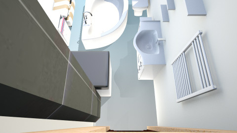 99 - Glamour - Bathroom  - by Milena ART