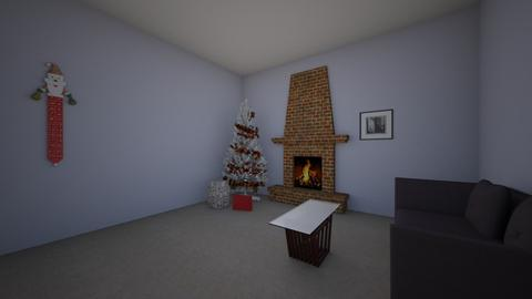 Christmas room123 - Living room - by Claire Salonen