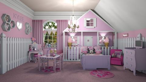 Little Princess Pink - Kids room  - by creato