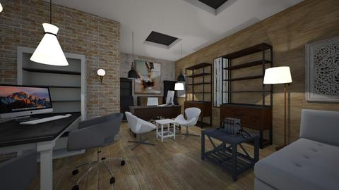 Office - Modern - Office  - by Nikos Tsokos