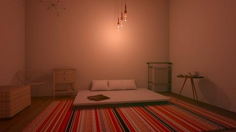 A work of art - Modern - Bedroom  - by matildabeast
