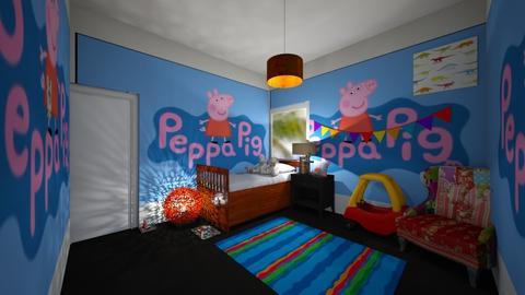 kids peppa pig room__lol - Kids room  - by Aldio scoot kid