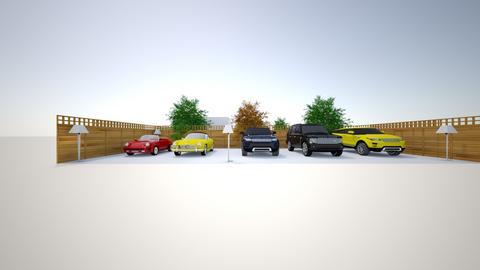 Open garage_cars  - by saratevdoska