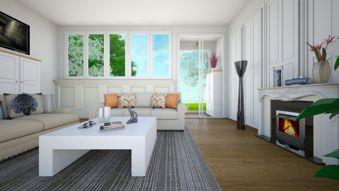 living room 3 sean - Classic - Living room  - by sean_cui
